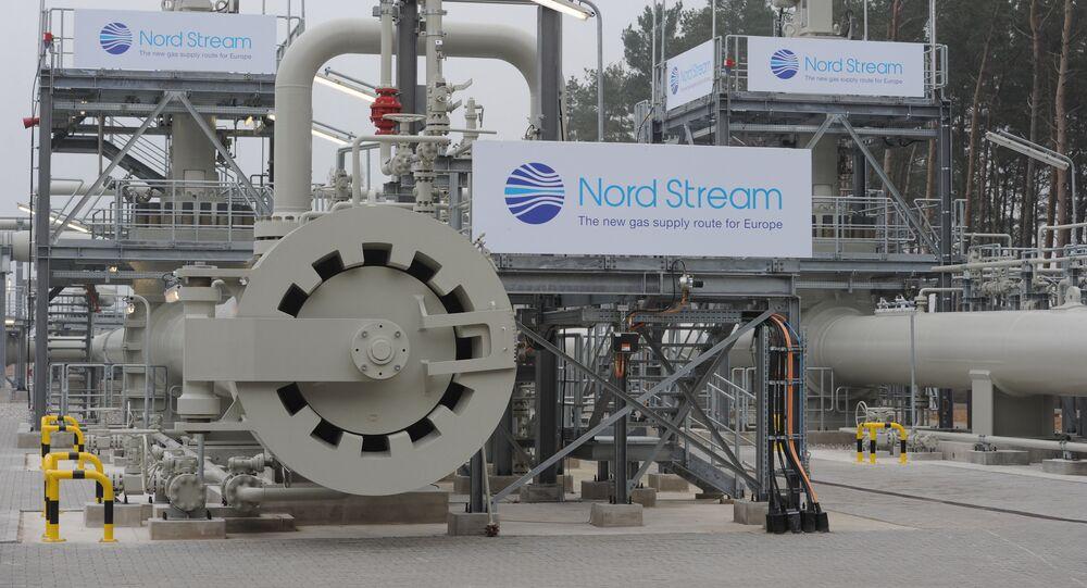 Gasoduto Nord Stream  lançado na Alemanha