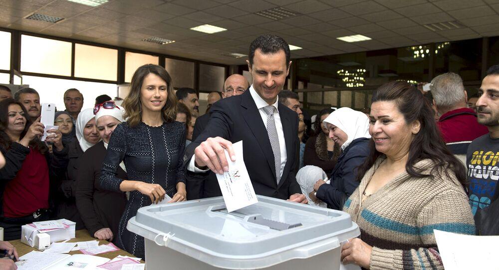 O presidente sírio Bashar al-Assad