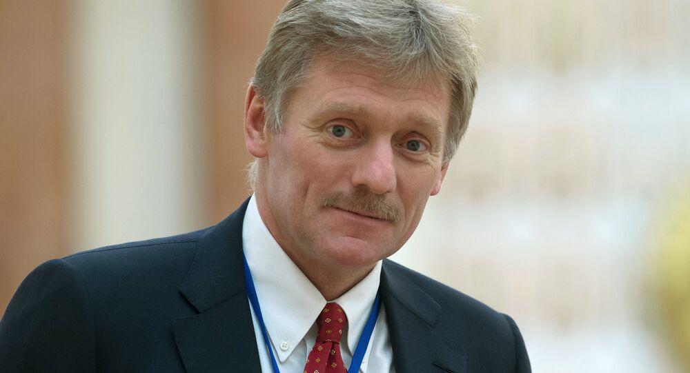 O porta-voz do presidente russo, Dmitry Peskov