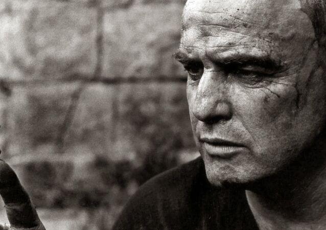 Marlon Brando em Apocalypse Now