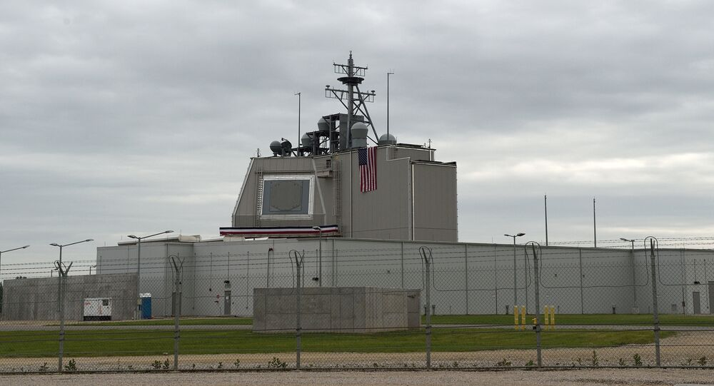 O sistema de defesa antimíssil Aegis Ashore norte-americana