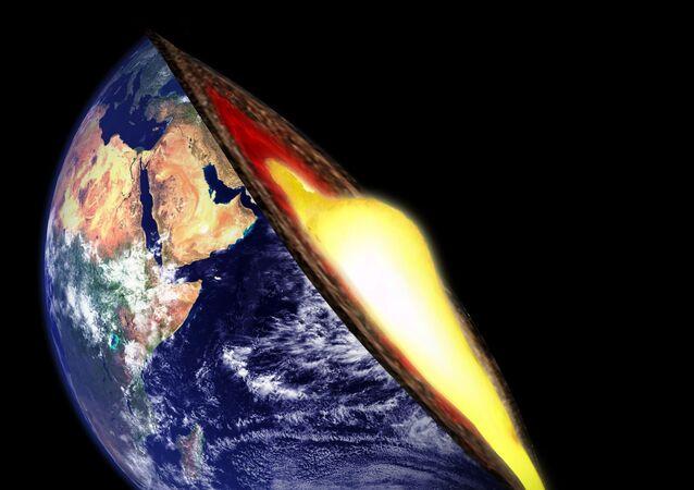 O manto de Terra