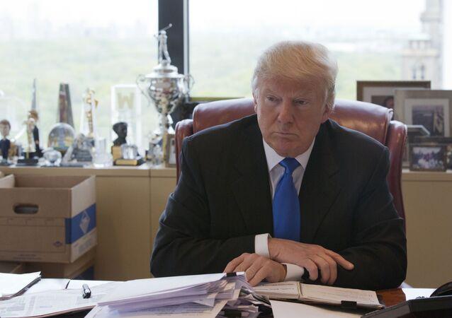 Donald Trump - presidenciável dos EUA. 10 de maio, 2016