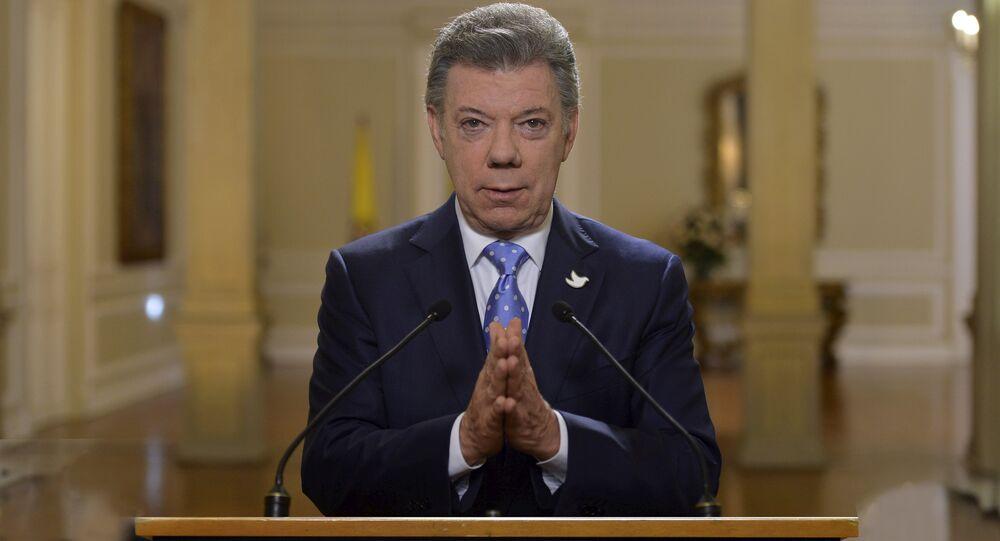 Presidente da Colômbia, Juan Manuel Santos
