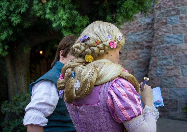 A Princesa Rapunzel