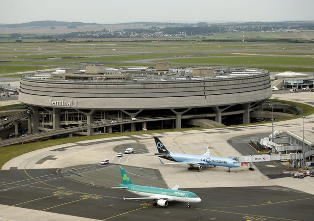 Aeroporto Charles de Gaulle, em Paris
