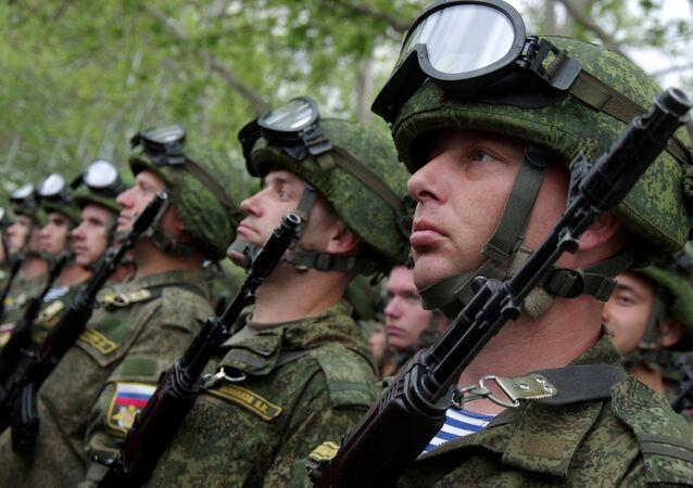 Ensaio da Parada da Vitória em Sevastopol