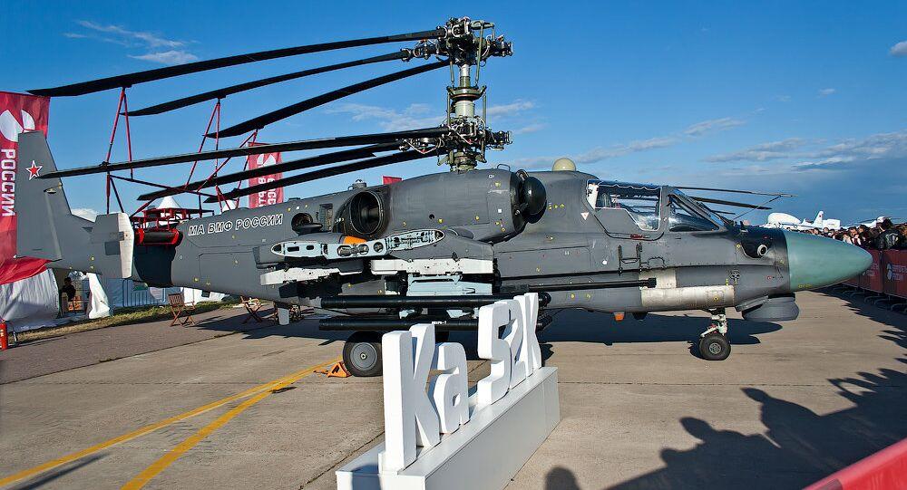 Helicóptero Ka-52K