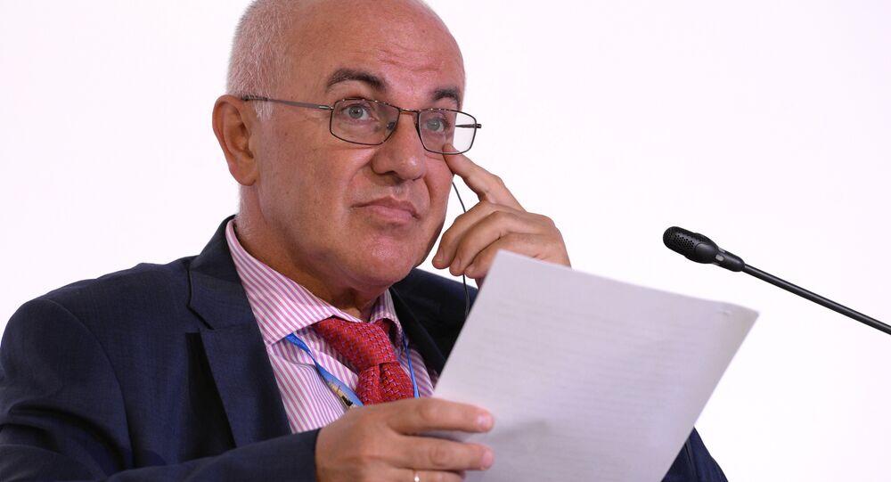 Vice-presidente do VEB, Sergey Vasiliev