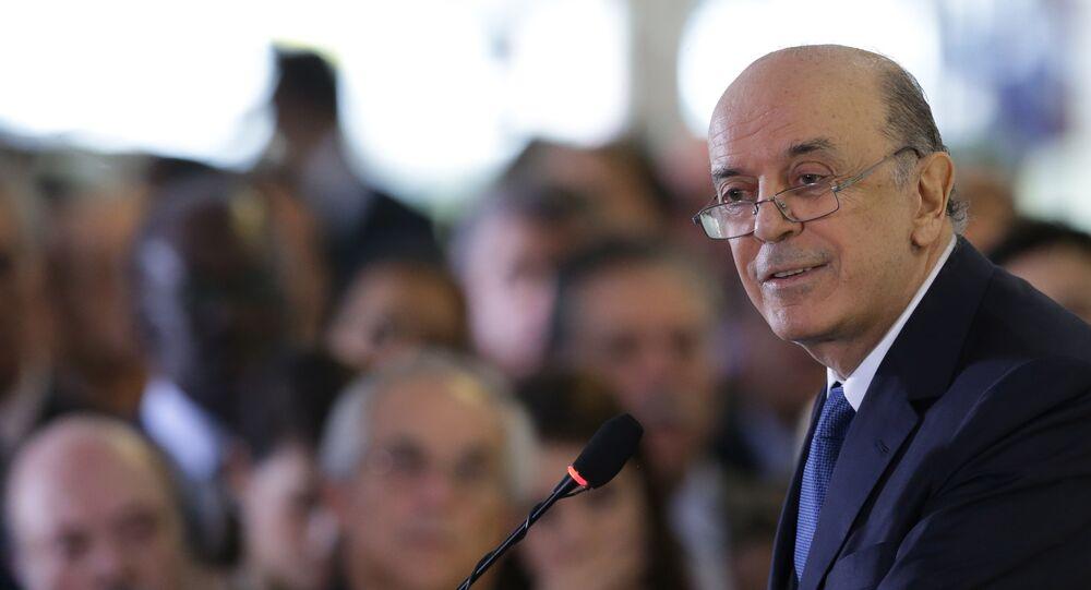 José Serra, novo chanceler brasileiro
