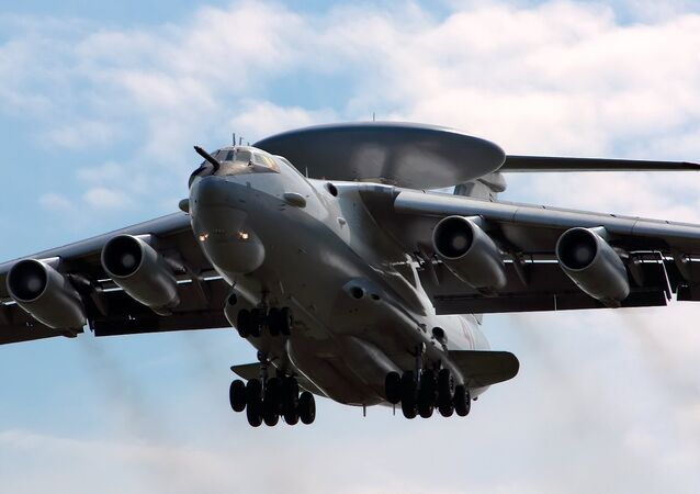A-50 – aeronave do Sistema Aéreo de Alerta e Controle (AWACS) da Rússia