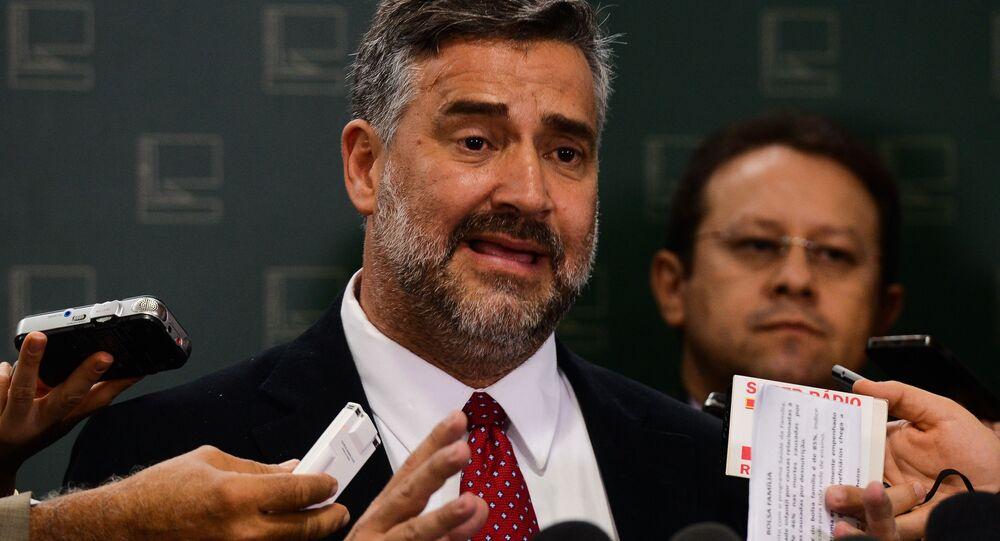 Deputado Paulo Pimenta, vice-líder do PT na Câmara dos Deputados
