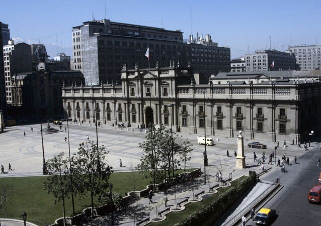 Palácio de La Moneda em Santiago do Chile