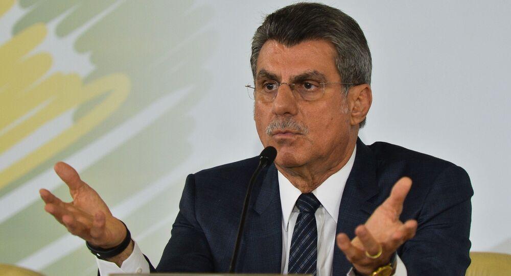 Ex-Ministro do Planejamento Romero Jucá