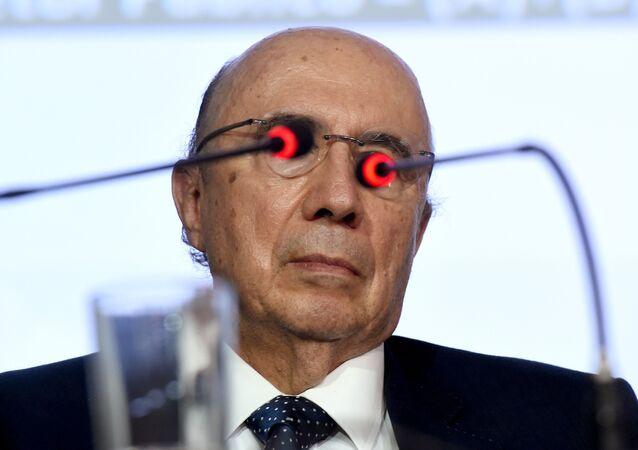 Henrique Meirelles, ministro da Fazenda do governo provisório Temer