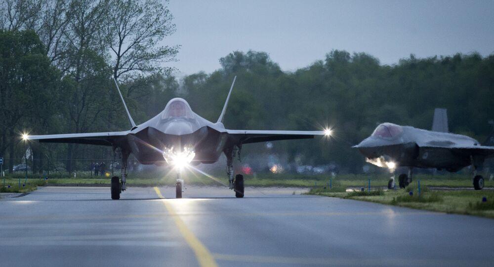 Caça F-35 Lightning II da Lockheed Martin (arquivo)