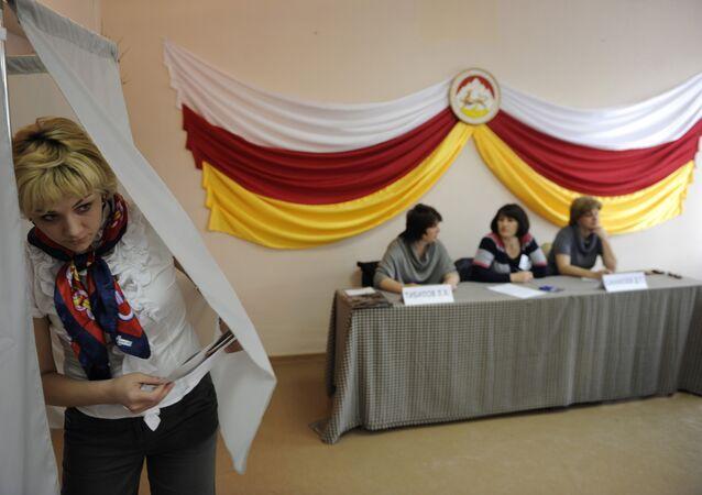 Votação na Ossetia do Sul