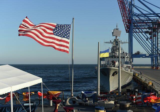 Os exercícios militares americano-ucranianos Sea Breeze 2015