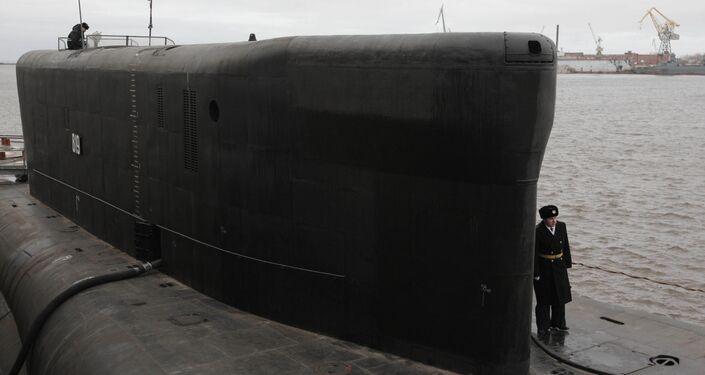 Submarino nuclear Alexander Nevsky.