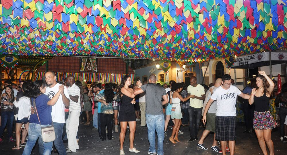 Festa de forró na Bahia