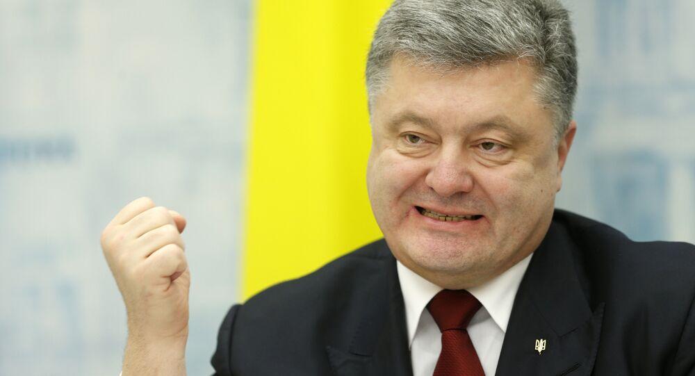 Presidente ucraniano Pyotr Poroshenko