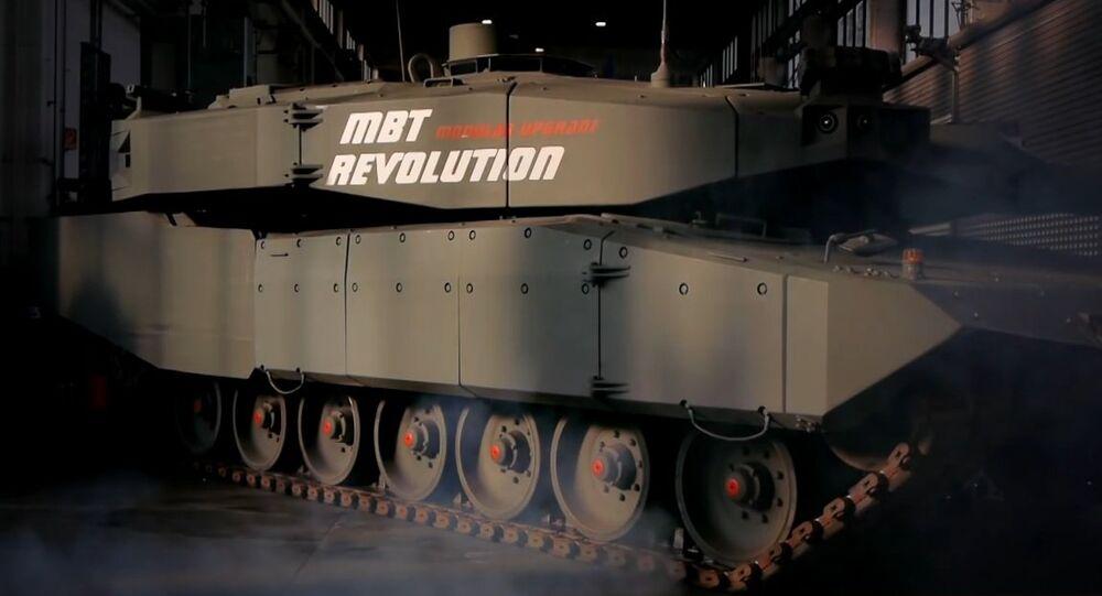Tanque MBT Revolution