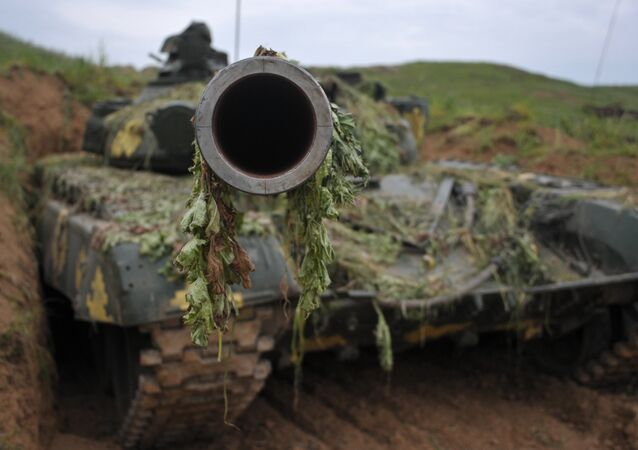 Tanque das defesas de Nagorno Karabaj