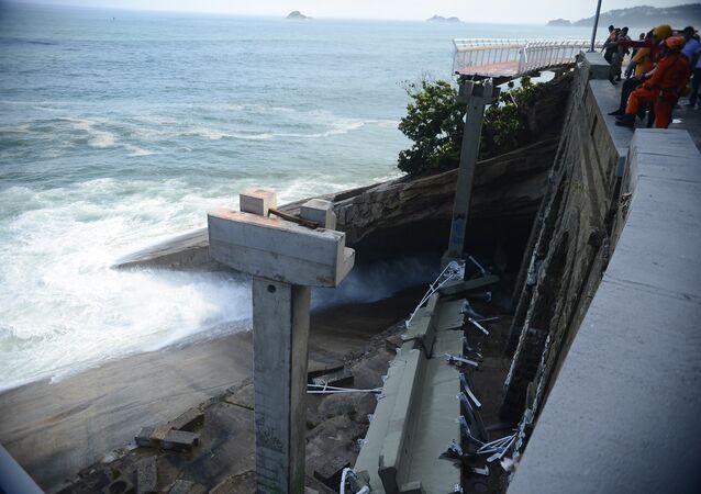 CREA-RJ laudo aponta diversas falhas no projeto que causaram queda de ciclovia no Rio