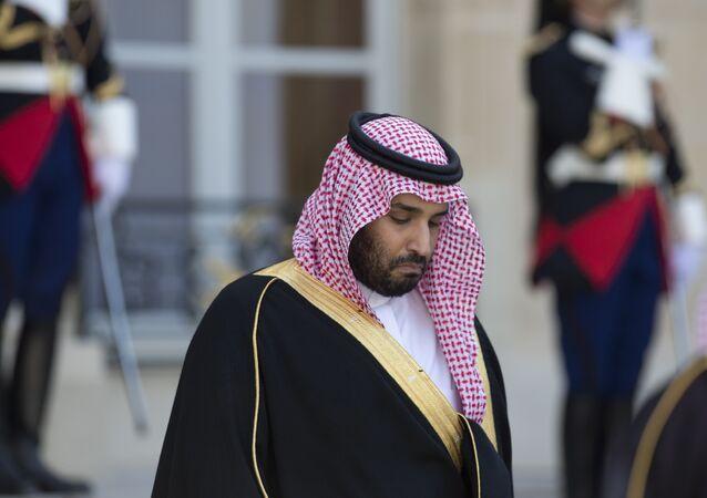 Mohammed bin Salman, vice-príncipe herdeiro da Arábia Saudita