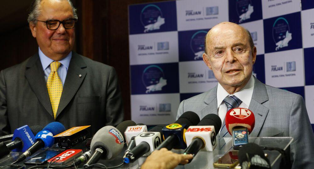 Governador em exercício do Rio, Francisco Dornelles defende pena de morte para crimes de estupro