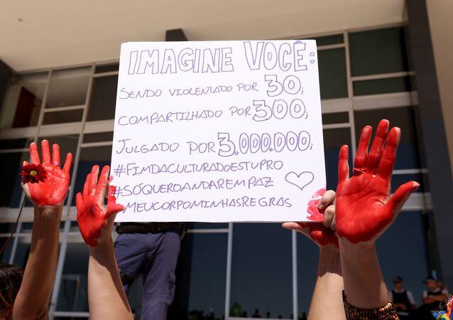 Caminhada das Flores em Brasilia