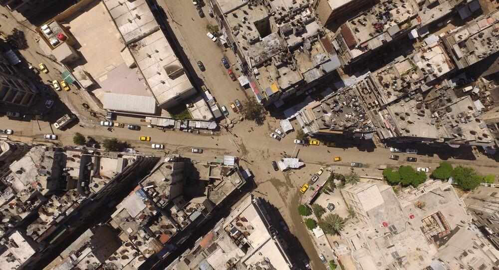 A cidade de Aleppo