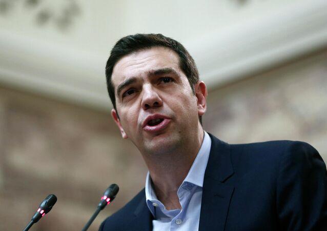 Alexis Tsipras, primeiro-ministro da Grécia