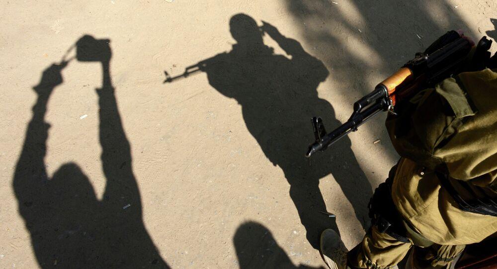 Imagem de um agente do SBU, Serviço de Segurança da Ucrânia (arquivo)