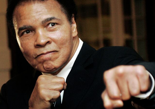 U.S. boxing great Muhammad Ali