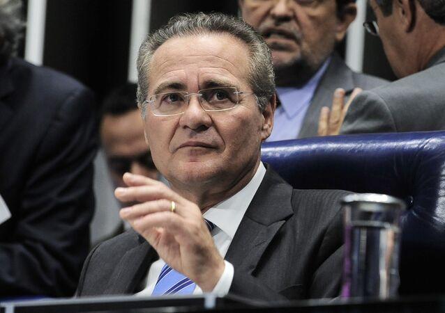 Presidente do Senado Renan Calheiros diz em nota, que vê 'com preocupação' redução de prazos do impeachment