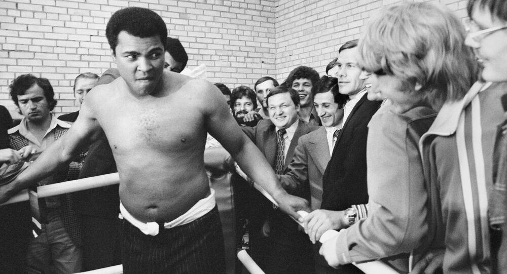 Muhammad Ali em Moscou, 15.07.1976