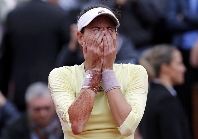 Garbiñe Muguruza, campeã de Roland Garros 2016