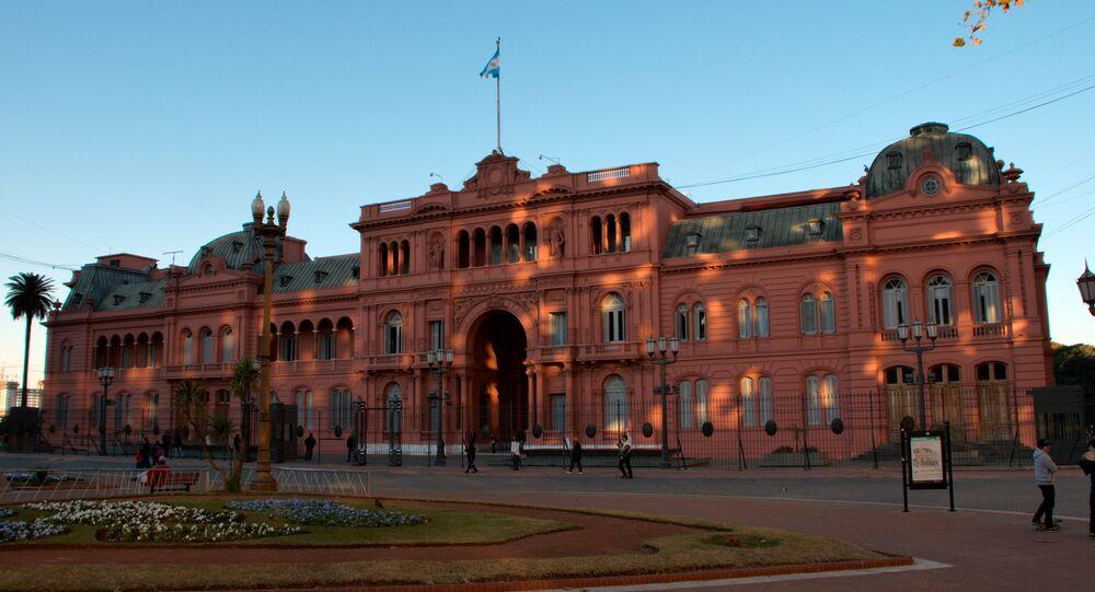 Casa Rosada em Buenos Aires (foto de arquivo)