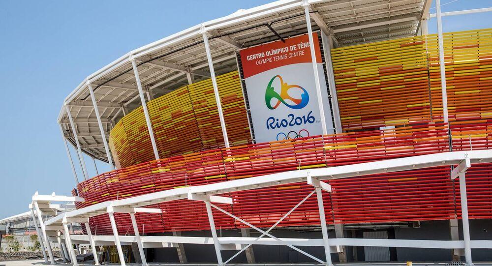 Centro Olímpico de Tênis para os Jogos Rio 2016