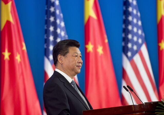 Presidente chinês Xi Jinping fala na sessão de abertura do 6º Diálogo Econômico e Estratégico entre os EUA e a China (imagem referencial)