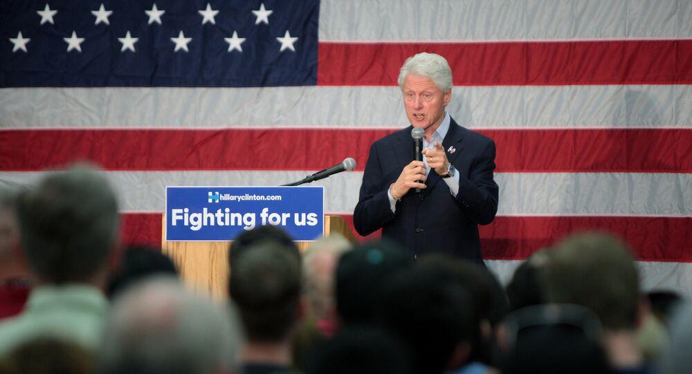 Bill Clinton, ex-presidente dos Estados Unidos