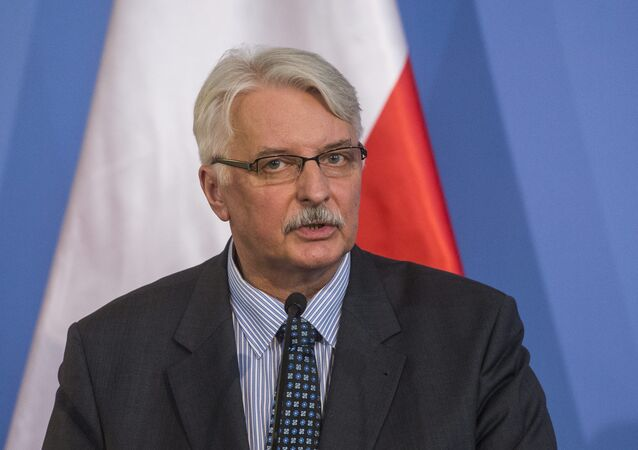 O ministro das Relações Exteriores da Polônia, Witold Waszczykowski