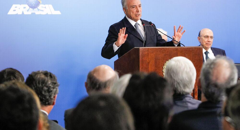 Temer e Meirelles se encontram com líderes empresariais em Brasília
