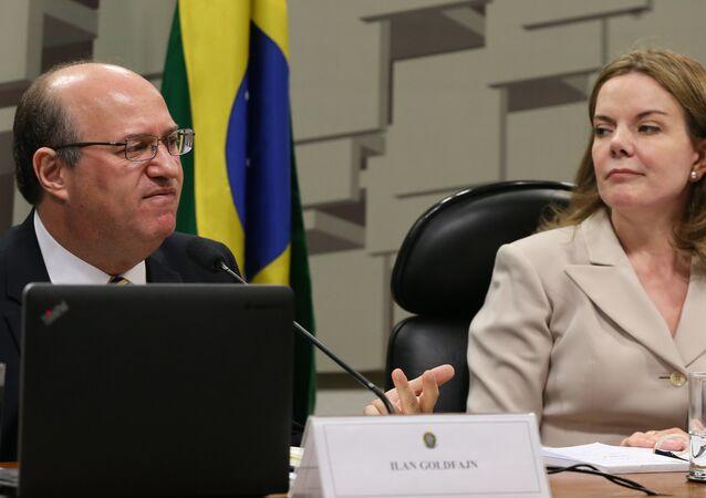 Ilan Goldfajn é sabatinado na Comissão de Assuntos Econômicos do Senado