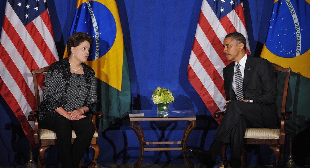 Dilma Rousseff e Barack Obama