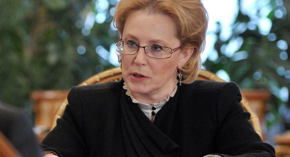 Veronika Skvortsova, ministra da Saúde da Rússia