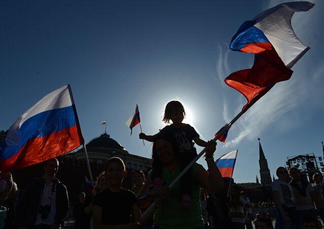 Segundo o secretário americano, a Rússia escolheu o melhor caminho para atingir dignidade e respeito pelos direitos dos cidadãos quando se declarou uma república independente em 1990