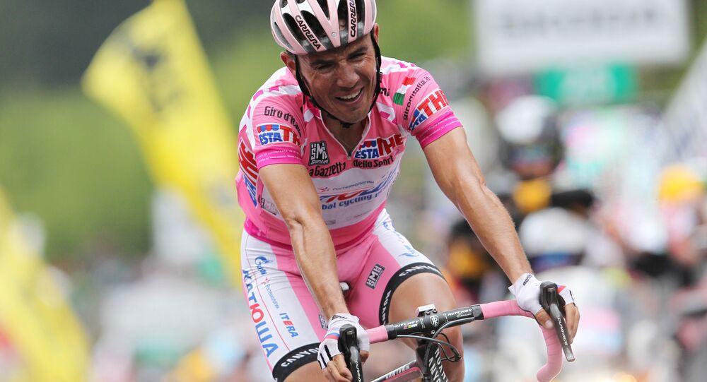 Joaquim Rodríguez, ciclista espanhol da equipe russa Katiusha