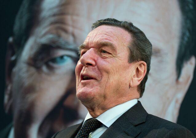 Ex-chanceler da Alemanha Gerhard Schroder